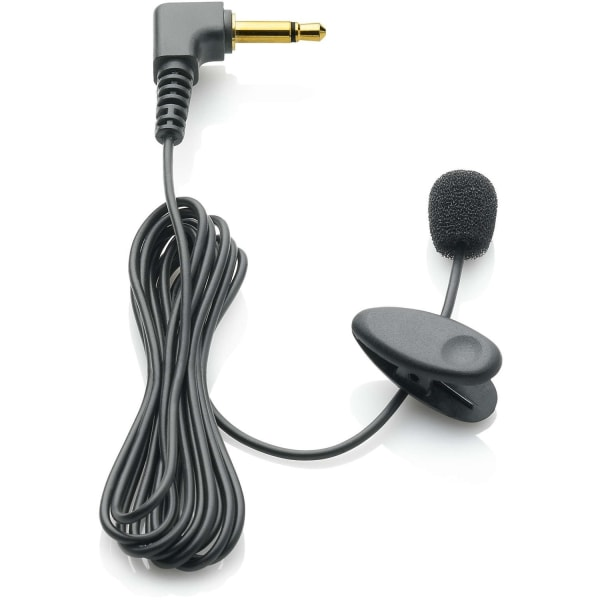 Clip-On Microphone Accessory for Digital Recorder