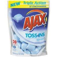 Toss Ins Powder Laundry Detergent, Packets, 20/Pack, 4 Packs/Carton