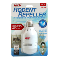 REPELLER RODENT SONIC/LED 2N1