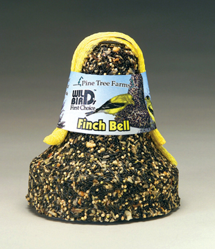 1305 Finch Seed Bell With Net, 18-Ounce