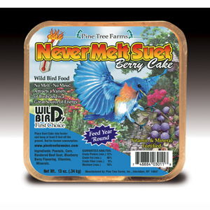Never Melt Suet Berry 12 oz