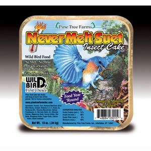 Never Melt Suet Insect 12 oz
