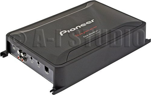 Pioneer Mono Amplifier 2400W Max Bass Knob
