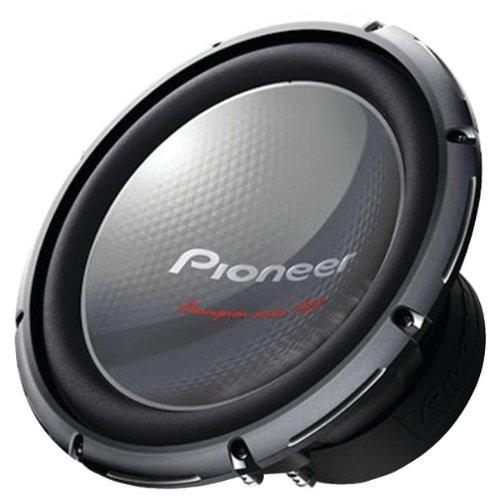 "Pioneer 12"" Woofer Dual 4Ohm 2000W Max"