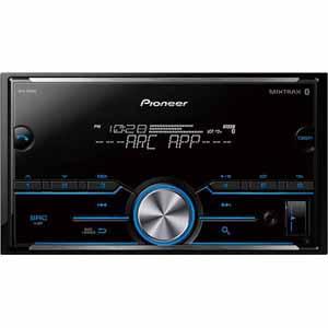 Pioneer D.din Mechless w/BluetoothAuxUSB2xPreOutSpotifyPandora Remote