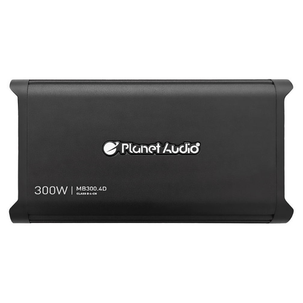 Planet Audio Mini Bang Series Amplifier 300 Watts Max Four Channel Digital