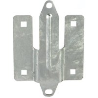 Playstar PS 1021 Commercial Grade Heavy Duty Connector Clip, Metal, Hot Dipped Galvanized