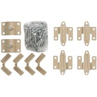 Playstar PS 1405 Standard Dock Kit, For Use With 1-5/8 in OD Pipe and 4 ft x 6 ft Wood Dock Frame, Steel, Beige