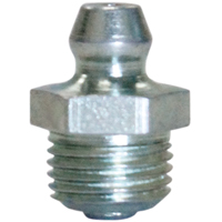 Lubrimatic 11-151 Standard Straight Short Grease Fitting, 1/8 in NPT