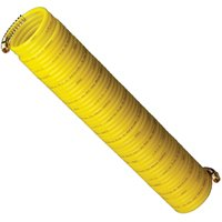Plews 4-50E-RET Recoil Air Hose, 1/4 in x 50 ft, MNPT, 200 psi, Nylon
