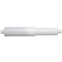PAPER ROLLER PLASTIC WHITE ADJ