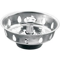 PlumbPak PP820-25 Replacement Sink Basket Strainer With Adjustable Post, Stainless Steel