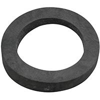 PlumbPak PP826-3 Beveled Waste and Overflow Washer, Rubber