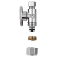 VALVE STRAIGHT CHRM 1/2X3/8IN
