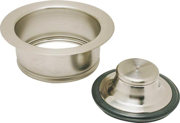 DISPOSAL FLANGE AND STOPPER
