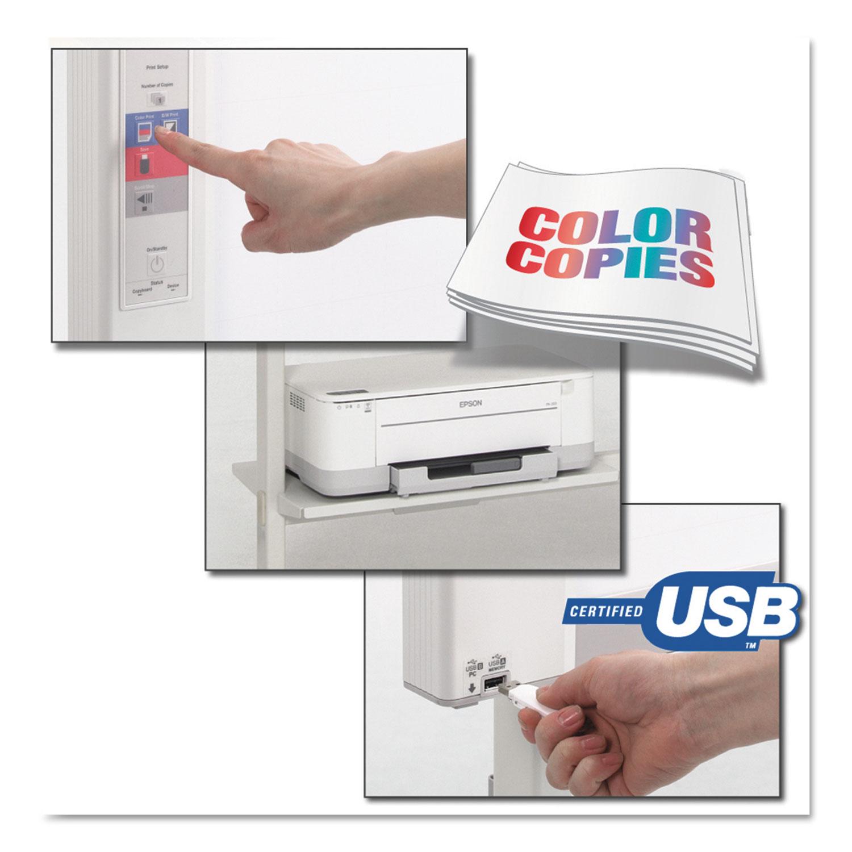 M-18S Electronic Copyboard, 58 3/8w x 40h