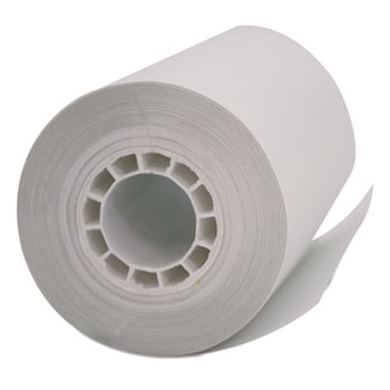 "Single Ply Thermal Cash Register/POS Rolls, 2 1/4"" x 55 ft., White, 50/Carton"