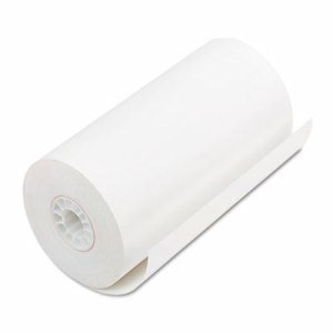 "Single Ply Thermal Cash Register/POS Rolls, 4 9/32"" x 115 ft., White, 25/CT"
