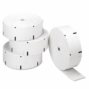 "Thermal ATM Rolls, 3 1/8"" x 1,960 ft., White, 4/Carton"