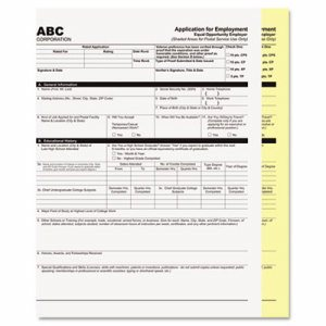 Digital Carbonless Paper, 8-1/2 x 11, Two-Part Collated, White/Canary, 2500 Sets