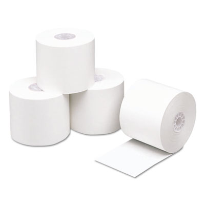 "Direct Thermal Printing Thermal Paper Rolls, 2 1/4"" x 230 ft, White, 50/Carton"