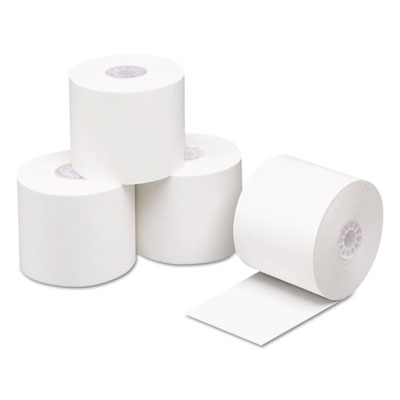 "Direct Thermal Printing Thermal Paper Rolls, 2.3ml, 2 1/4"" x 200ft, White, 50/CT"
