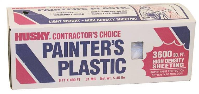 PAINTERS PLSTC 9X400FT .0035M