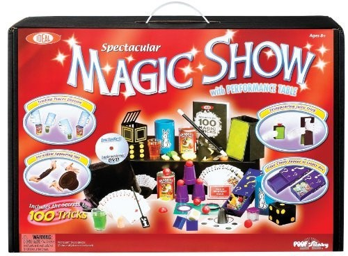 100-Trick Spectacular Magic Show Suitcase with DVD
