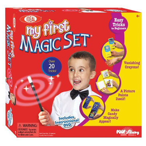 Ideal My First Magic Set with Instructional DVD