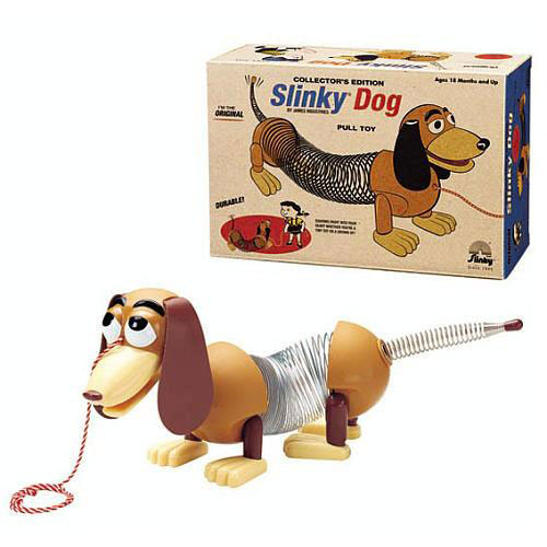 Collector's Edition Original Slinky Dog in Retro Packaging