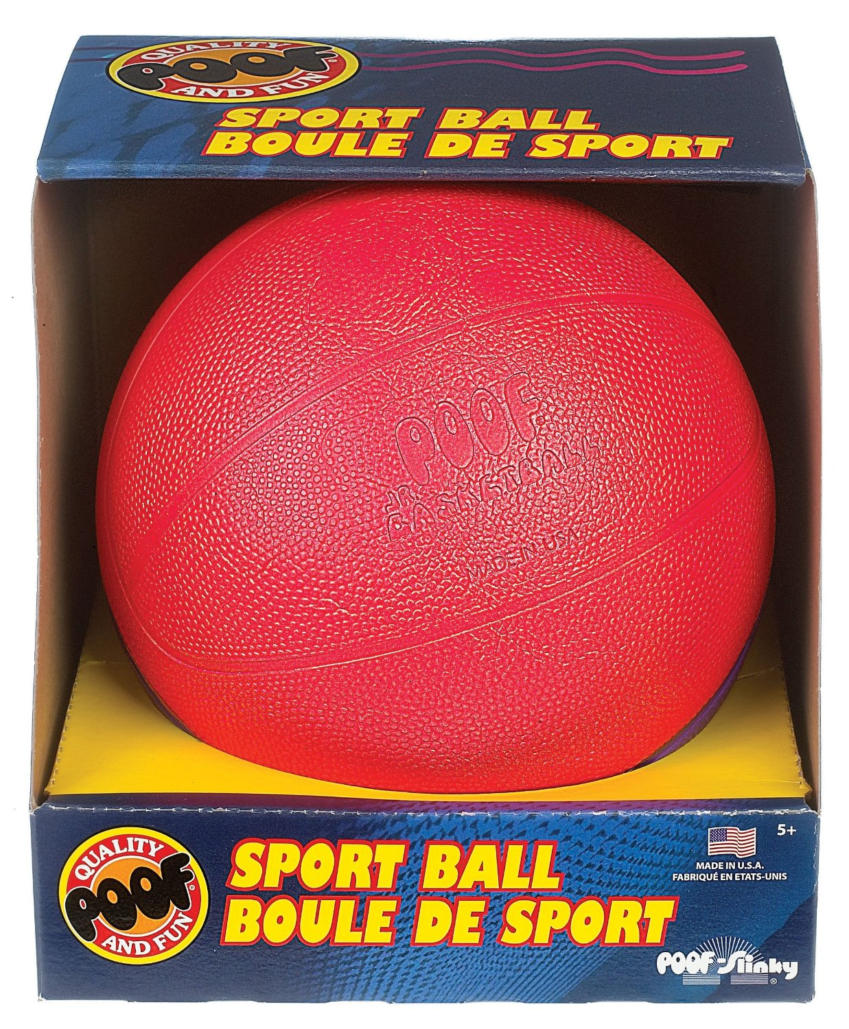 7.5 inch Jr. Foam Basketball in Box