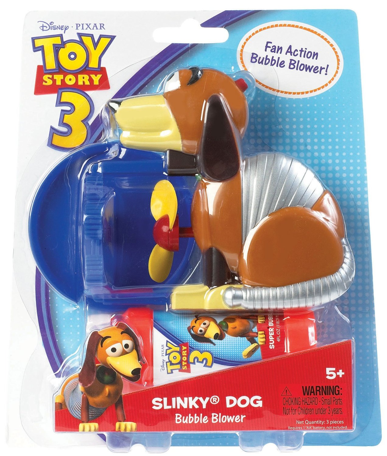 Disney Pixar Toy Story Bubble Blower Slinky Dog