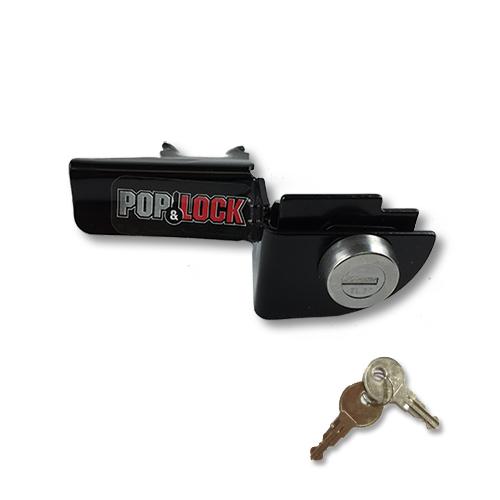 Pop & Lock PL3300 Black Manual Tailgate Lock for Dodge Ram 1500/2500/3500