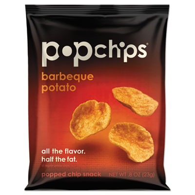 Potato Chips, BBQ Flavor, .8 oz Bag, 24/Carton