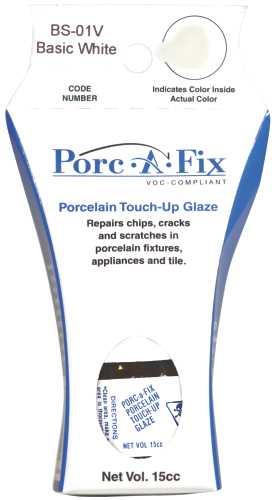 PORC-A-FIX� PORCELAIN TOUCH-UP GLAZE, BASIC WHITE