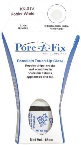 PORC-A-FIX� PORCELAIN TOUCH-UP GLAZE, KOHLER WHITE