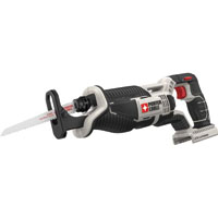 Porter-Cable PCC670B Cordless Reciprocating Saw, 20 V, Lithium-Ion, 1 in Stroke, 0 - 3000 spm