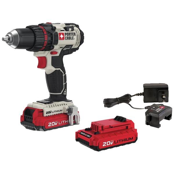 """PORTER-CABLE PCCK600LB 20-Volt MAX* 1/2"""" Cordless Drill/Driver Kit"""