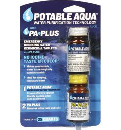 Potable Aqua w/ P.A. Plus