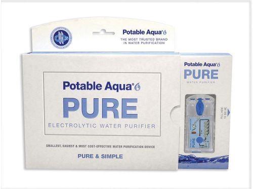 Potable Aqua Pure Electrolytic Water Purifie