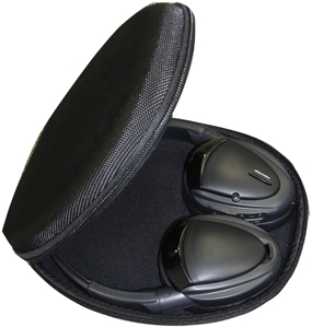 POWER ACOUSTIK HP-900S 2-Channel RF 900MHz Wireless Headphones with Swivel Earpads
