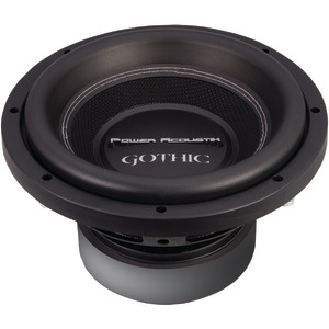 "POWER ACOUSTIK GW3-10 Gothic Series 2ohm Dual Voice-Coil Subwoofer (10"", 2,200 Watts)"