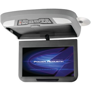 "Power Acoustik PMD-102X 10.2"" Ceiling-Mount Swivel DVD Entertainment System with IR & FM Transmitters & 3 Interchangeable Ski"