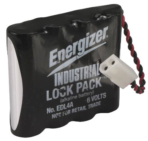 ELECTRONIC LOCK BATTERY 4 PACK AA