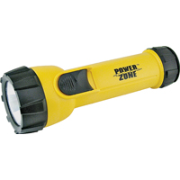 FLASHLIGHT 3LED PLAST W/2D YEL