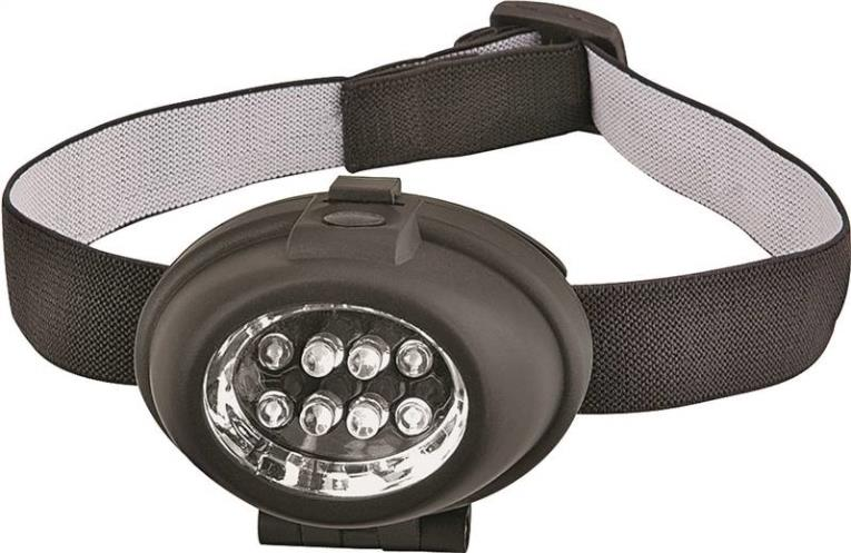 Powerzone PZP-2208B2 8 LED Headlight