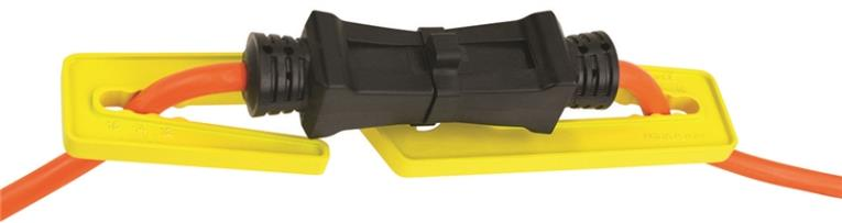 Power Zone ORCACDL01 Cord Lock, Plastic, Black/Yellow