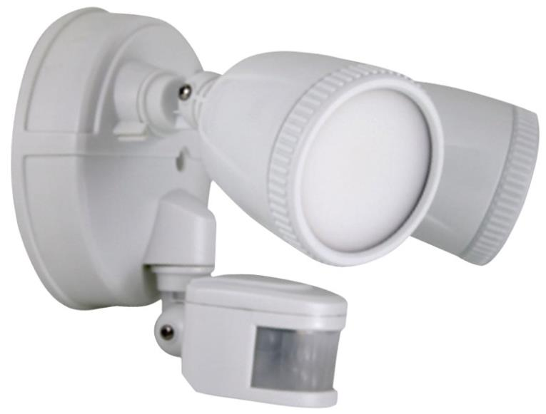 LIGHT LED SECURITY 1200L WHT