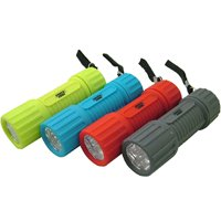 Powerzone FT-ORG18 Compact Flashlight, LED, 12 hr