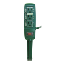 Powerzone OR121010 Yard Stake, 125 V, 13 A, 3 Outlet